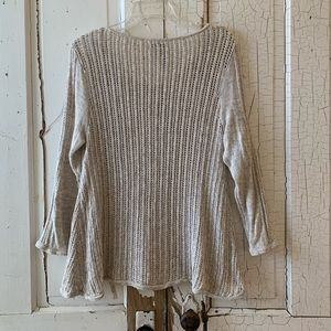 Lucky Brand Sweaters - Lucky Brand beige cotton sweater Size Small